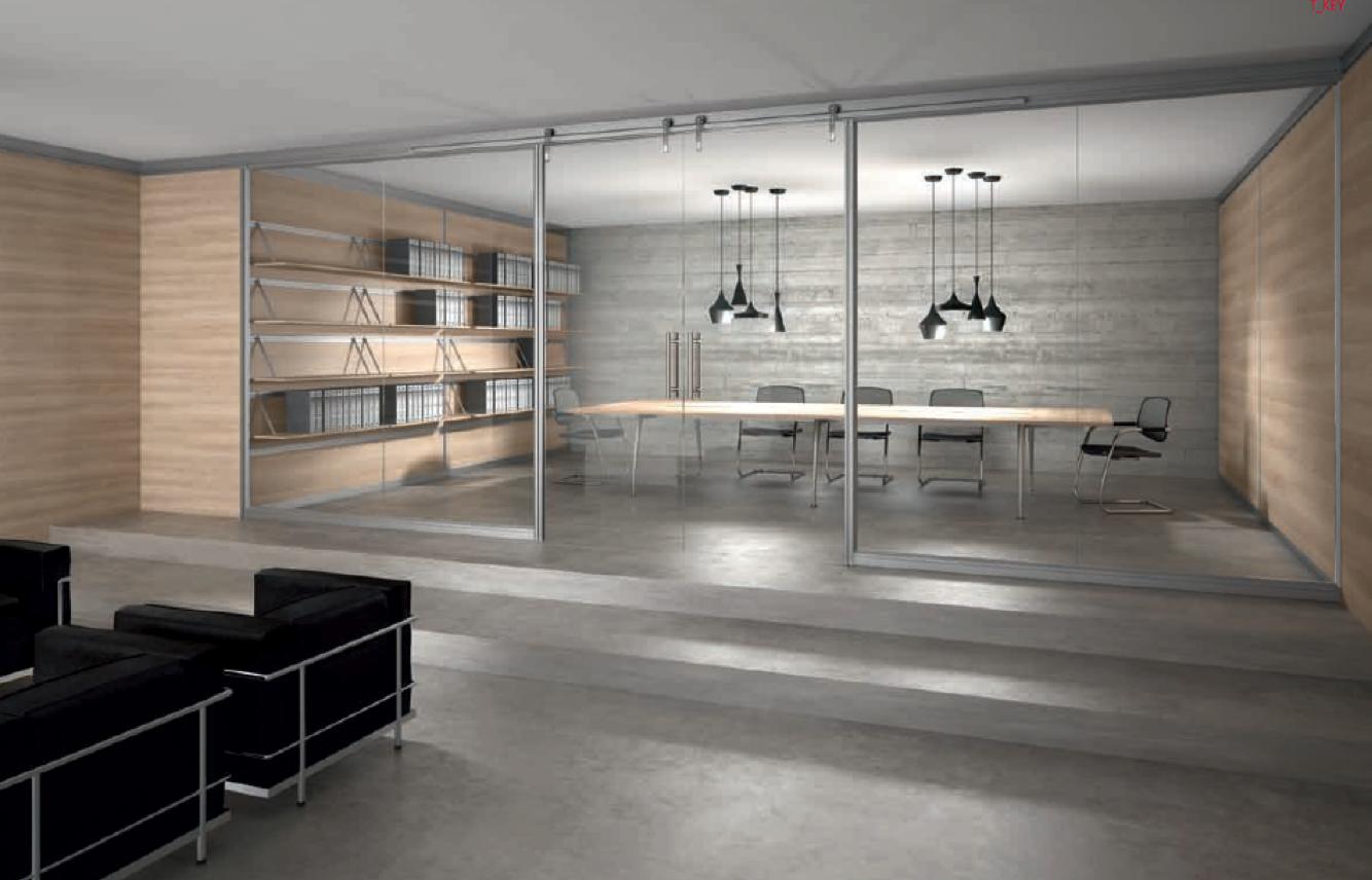 Mobili Ufficio Bergamo - Scrivanie per ufficio Begamo  StacSystem
